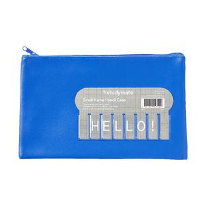 Studymate Name Pencil Case Small Blue