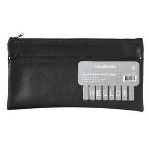 Studymate Name Pencil Case Large Black