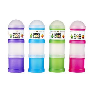 Nude Food Triple Snack Tube Assorted Colours