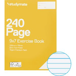 Studymate Premium 9x7 Exercise Book 240 Page