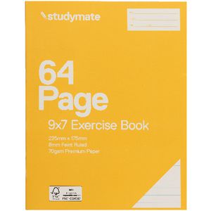 Studymate Premium 9x7 Exercise Book 64 Page