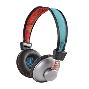 Marley Positive Vibrations Sun On Ear Headphones Blue