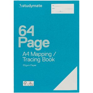 Studymate Premium A4 Mapping Tracing Notebook 64 Page