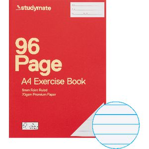Studymate Premium A4 Exercise Book 96 Page