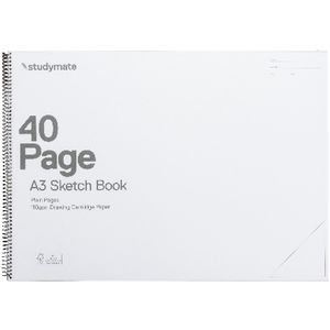 Studymate Premium A3 Clear PP Sketch Book