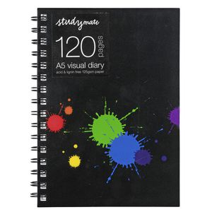 Studymate A5 Visual Art Diary 120 Pages