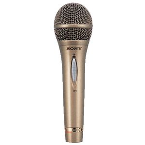 Sony Vocal Microphone - Gold