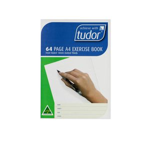 Tudor A4 Dotted Thirds 14mm A4 Exercise Book 64 Page