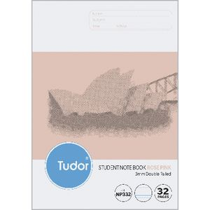 Tudor NSW Student Notebook 250x175mm 32 Page