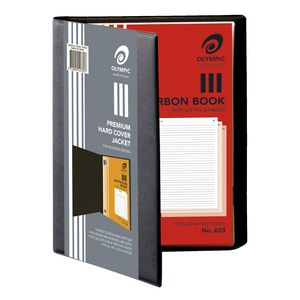 Olympic Book Jacket 297 x 210mm Black