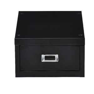 Spencer 1 Drawer Cabinet Mini Black