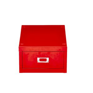 Spencer 1 Drawer Cabinet Mini Red