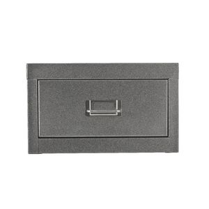 Spencer 1 Drawer Cabinet Silver