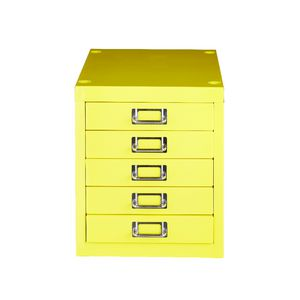 Spencer 5 Drawer Cabinet Yellow