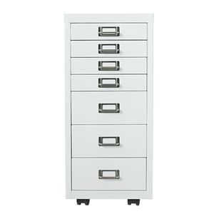 Spencer 7 Drawer Cabinet White