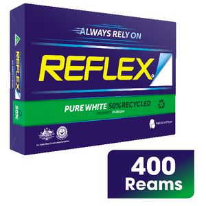Reflex 50% Recycled 80gsm A4 Copy Paper Full Pallet