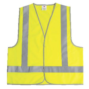 Unisafe Hi-Vis Safety Vest Day and Night Lime XL