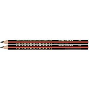 Staedtler Triplus Jumbo Triangular Graphite Pencil HB 2 Pack