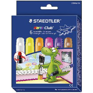 Staedtler Noris Club Gel Pastel Crayons 6 Pack