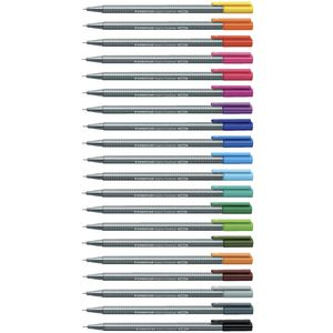 Staedtler Triplus Fineliner 334 Assorted 20 Pack