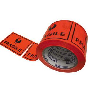 Stylus Printed Label Tape Fragile