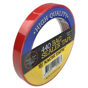 Stylus PVC Bag Sealing Tape Red 12mm x 66m