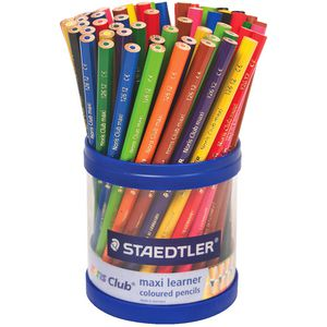 Staedtler Noris Club Maxi Leaner Coloured Pencils 70 Pack