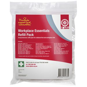 St John Ambulance Workplace Essentials Refill Pack
