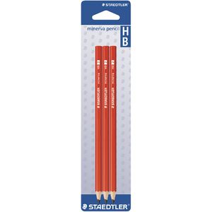 Staedtler Minerva Graphite Pencils HB 3 Pack