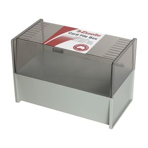 Esselte 127 x 203mm System Card Box Grey