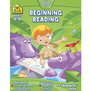School Zone Beginning Reading Book