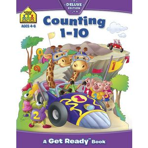 School Zone Counting 1-10 Book