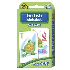 School Zone Flash Cards Go Fish