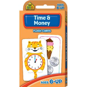 School Zone Time and Money Flash Cards