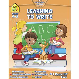 School Zone Learning To Write Book