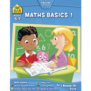 School Zone Maths Basics 1 I Know It Workbook