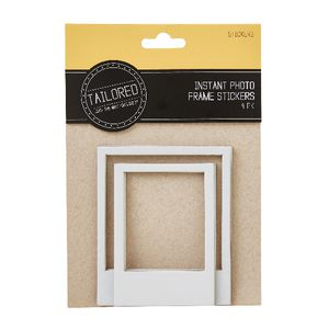Tailored Instant Photo Frame Stickers