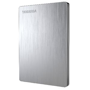 Toshiba 1TB Canvio Slim II Portable External Hard Drive Silver