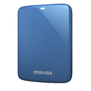 Toshiba 500GB Canvio Connect Portable Hard Drive Blue