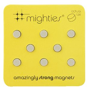 Three By Three Mighties Magnets 8 Pack