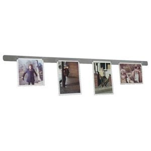 Three By Three Self-Stick Magnetic Bulletin Board Stainless