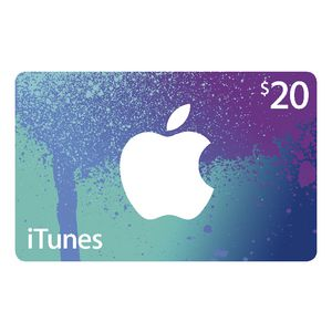 Apple iTunes Card $20