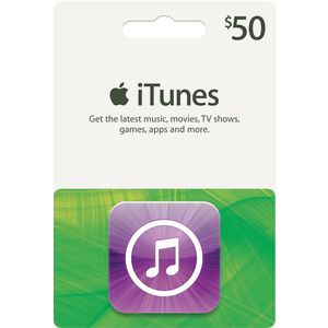 Apple iTunes Card $50