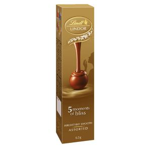 Lindt Lindor Balls Assorted 62g 5 pack