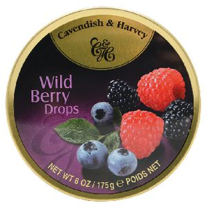 Cavendish & Harvey Wild Berry Drops 175g