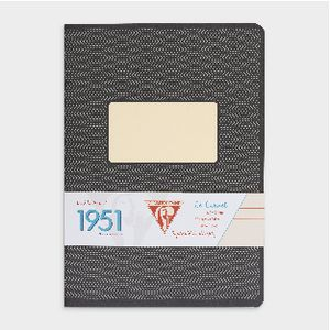 Clairefontaine Metric 1951 A5 Notebook 96 Page Black