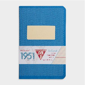 Clairefontaine 1951 Lined Pocket Notebook 96 Page Blue