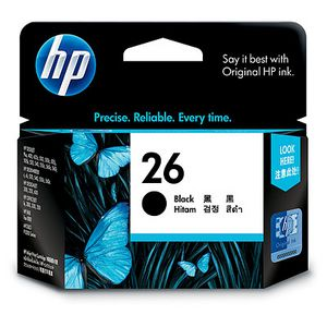 HP 26 Black Ink