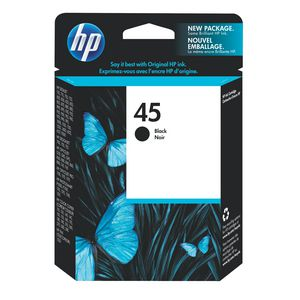 HP 45 Black Ink