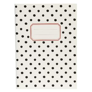 Clairefontaine Medium Notebook Black Dot 64 Page
